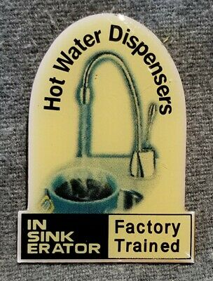LMH PINBACK Pin IN SINK ERATOR Sink Disposal InSinkErator HOME DEPOT Employee