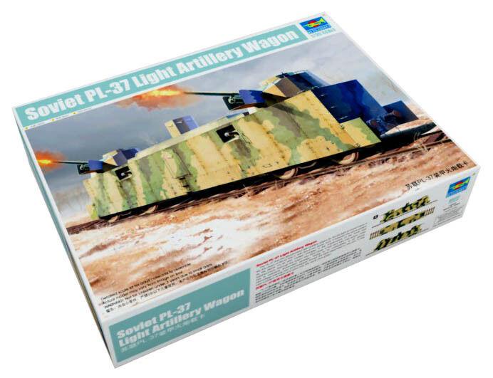 Trumpeter 9360222 Leichter Artilleriewaggon PL-37 1 35 Zug Modellbausatz  | Schenken Sie Ihrem Kind eine glückliche Kindheit