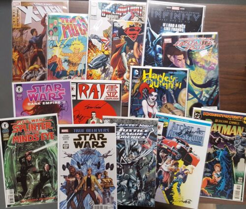 Grab Bag Lot of 10 Signed Comics by Today/'s Greatest Creators