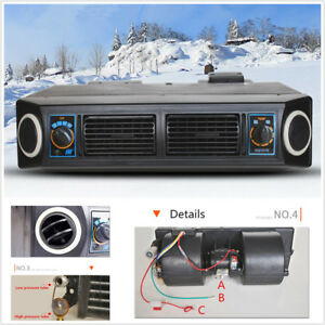 Details about Universal Underdash AC Evaporator 12V Heat & Cool Air  Conditioner Compressor Kit