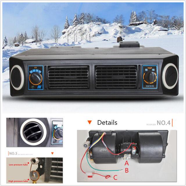 Universal Underdash AC Evaporator 12v Heat & Cool Air ...