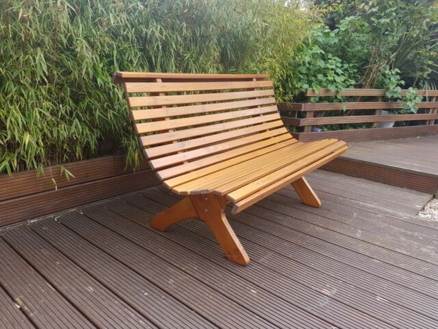 Remarkable Garden Bench 3 Seater Wooden Outdoor Park Seating Wood Furniture Seat Caraccident5 Cool Chair Designs And Ideas Caraccident5Info