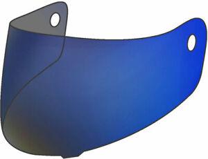 Shark Visiera casco Ridill S700 S600 S900 Open line specchio blu VZ6030PBLUTU