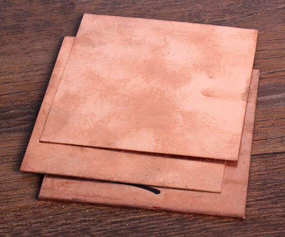 1pcs 99.9% Pure Copper Cu Metal Sheet Plate 2 x 100 x 200 mm