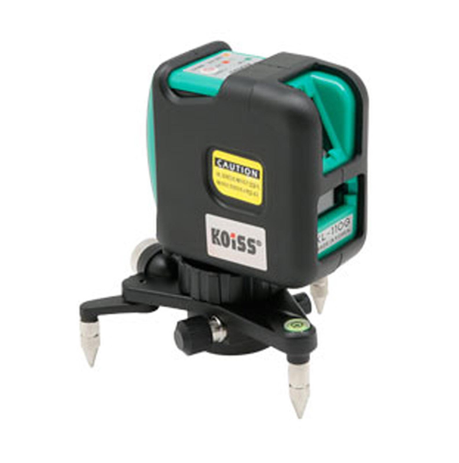 Koiss KL-110G Line Laser Level Portable Horizontal Grünical Measuring Tool