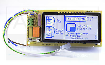 Potterton netaheat 6//10E 10//16E /& 16//22E chaudière Ignition Control PCB 407676
