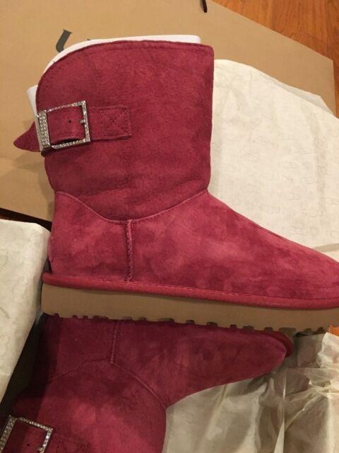 d24dad5d9e3 UGG Australia Size 7 Remora Buckle BOOTS Style 1092709 W/ Gar