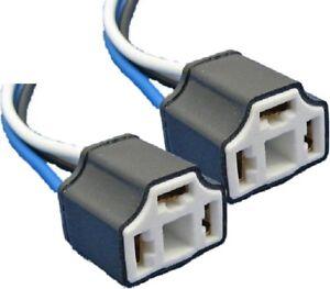 Pair-Of-H4-Ceramic-Bulb-Holder-Repair-Car-Head-3Pin-Plug-Robinson-Ssc029