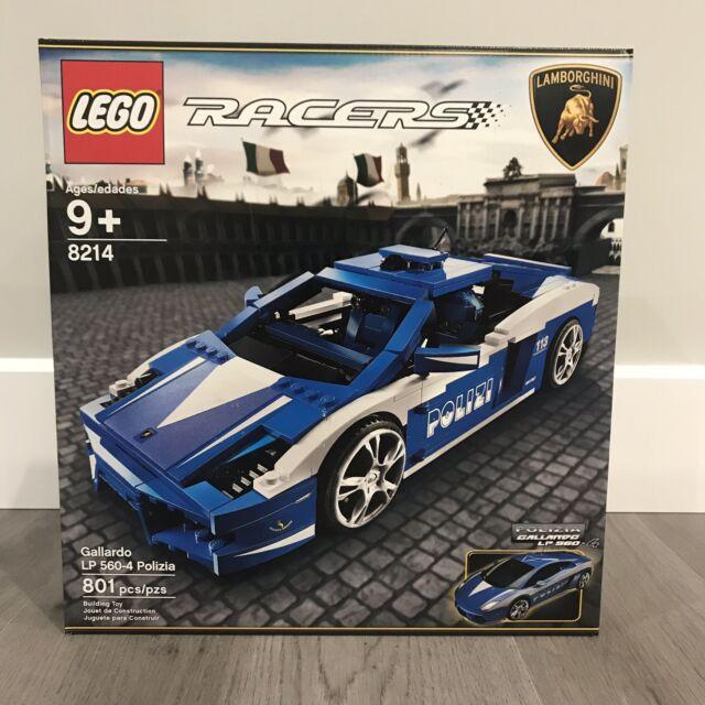 LEGO 8214 Lamborghini Gallardo LP 560-4 Polizia BRAND NEW***