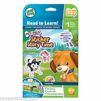 Leapfrog Tag Book - Pet Pals Sticker Story Time - Storytelling - Ages 4-8