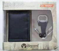 Rewards Fabric Wallet & Bottle Opener Multi Tool Boxed Gift Set Camo Or Black