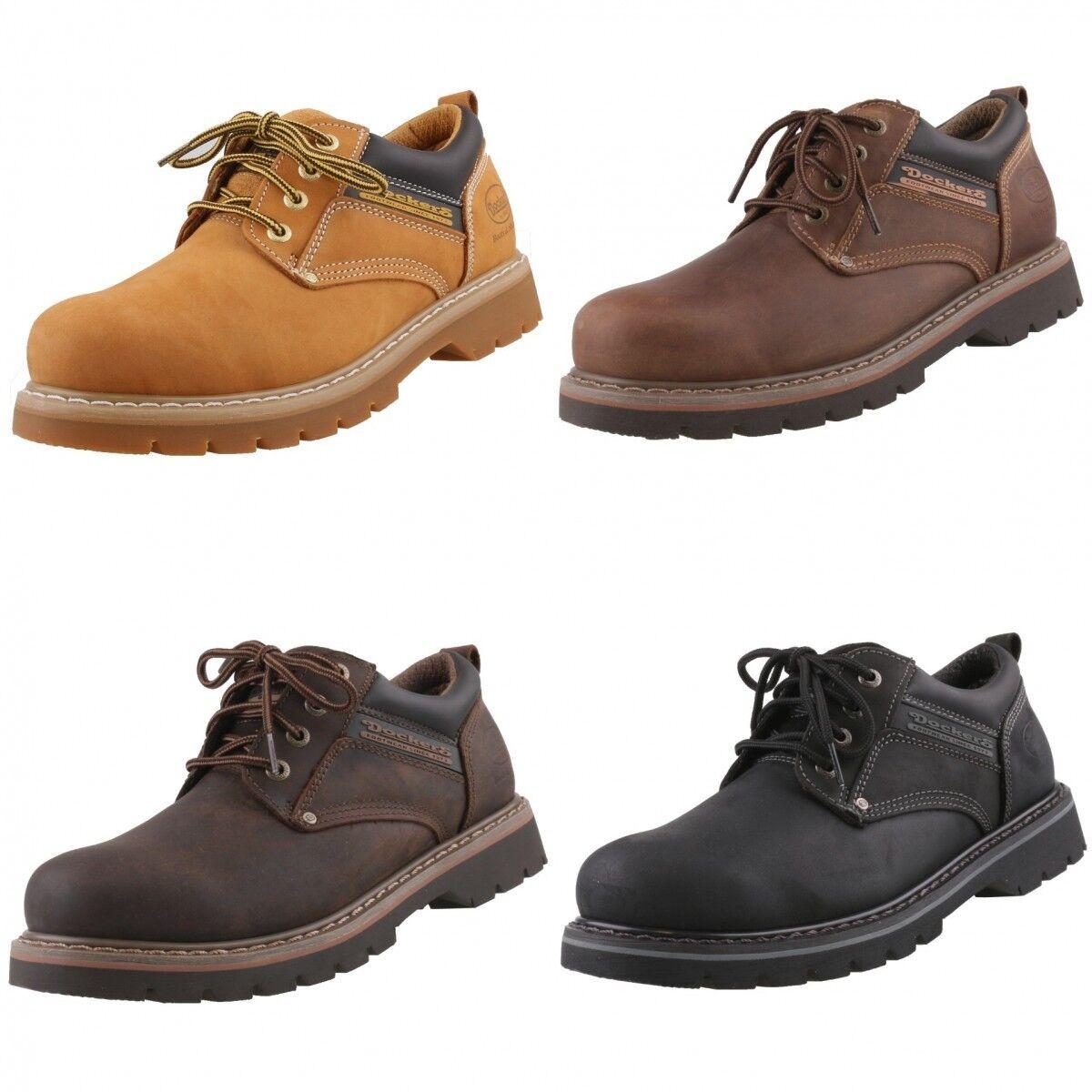 DOCKERS rahmengenähte Herrenschuhe Boots Leder Schuhe Halbschuhe Schnürschuhe