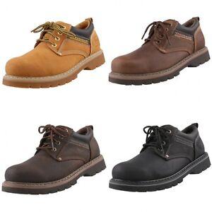 DOCKERS-rahmengenaehte-Herrenschuhe-Boots-Leder-Schuhe-Halbschuhe-Schnuerschuhe