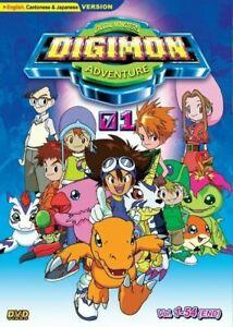 Anime-DVD-Digital-Monsters-DIGIMON-Adventure-01-Full-Series-1-54-ENGLISH-DUB