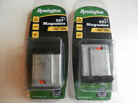 Remington 597 Magnum Magazine; 17 Hmr Or 22 Wmr; 19653; Lot Of 2 Mags