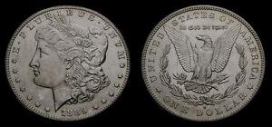 USA-1889-S-Silver-Morgan-Dollar-Rare-Key-Date-700-000-Minted-UNC-Very-High-Grade