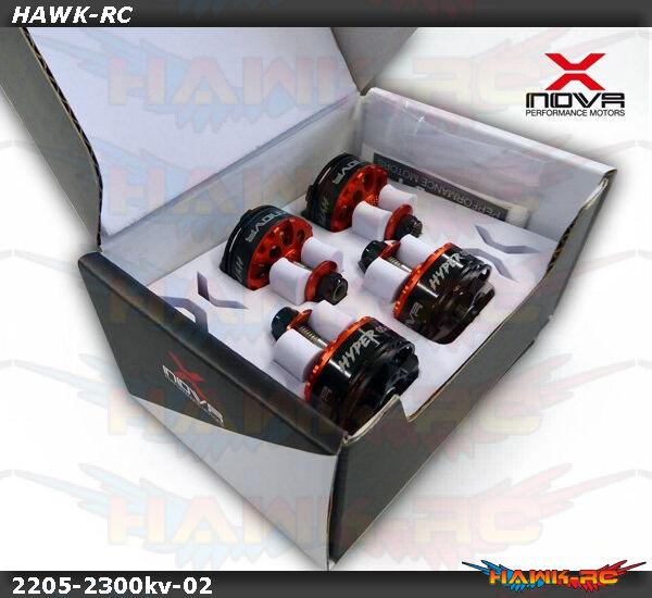 Xnova 2205-2300KV Motor hipersónico Racing FPV Combo