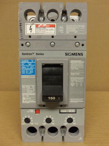 ITE SIEMENS FXD FXD63B150 150 AMP 3 POLE 600V CIRCUIT BREAKER
