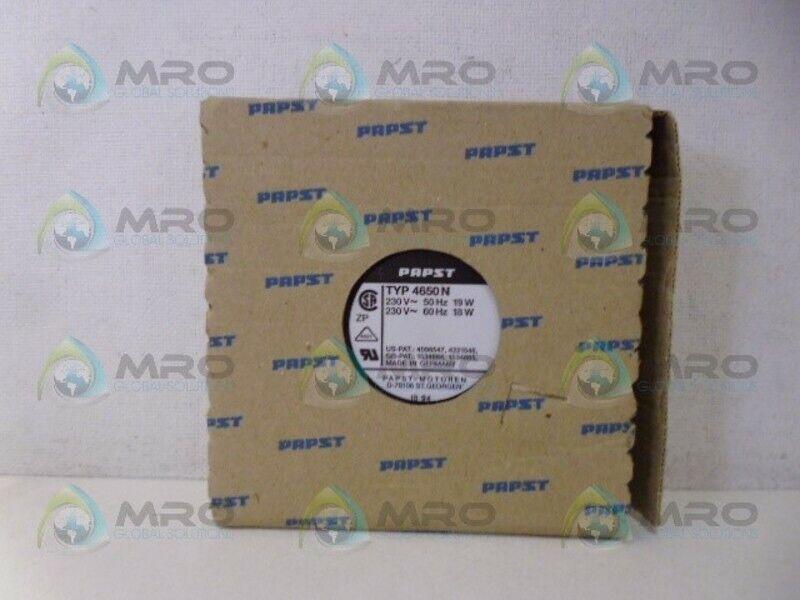 PAPST 4650N AXIAL FAN NEW IN BOX