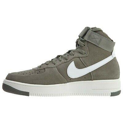 Mens Nike Air Force 1 Ultraforce Hi 880854 003 Grey Olive eBay  eBay