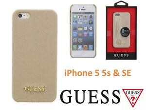 4b7f3e36346 Image is loading Genuine-Guess-Saffiano-Collection-Hard-Case-for-Apple-