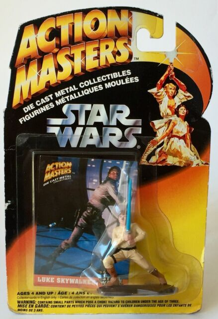 Star Wars Action Masters Die Cast Figure Luke Skywalker Sealed Kenner 1994