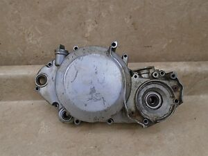 Kawasaki-500-H1-TRIPLE-H1-A-Used-Engine-Right-Clutch-Cover-1971-SM230