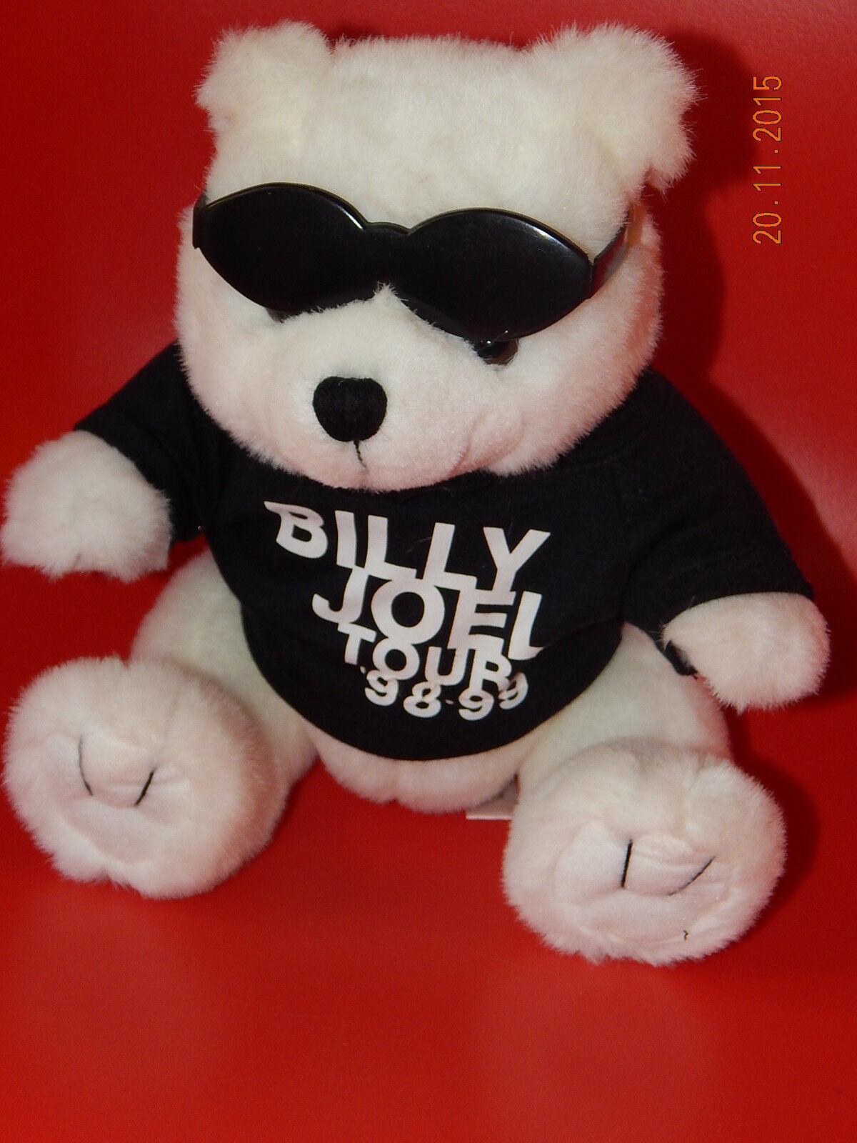 Billy Joel Souvenir cool Teddy Bear Concert Tour 1998-99 weiß rar selten Sammler
