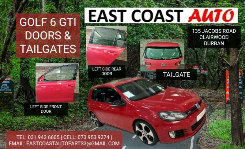 GOLF 6 GTI TAILGATES AND DOORS