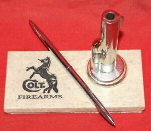 Colt-Firearms-Desk-Pen-Holder-with-Pen