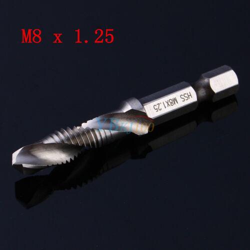 M3-M10 Métrique Haute Vitesse Acier Composite tarauds Coniques /& Forets spirale machine Accessoires LJ