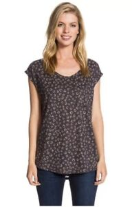 Round T Tamtam Deep Womens Neck Top Song Ss Roxy Shirt 4Atqaw104