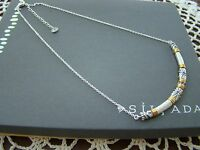 Silpada Sterling Silver, Brass, Crystal canyon Dreams Necklace N3339
