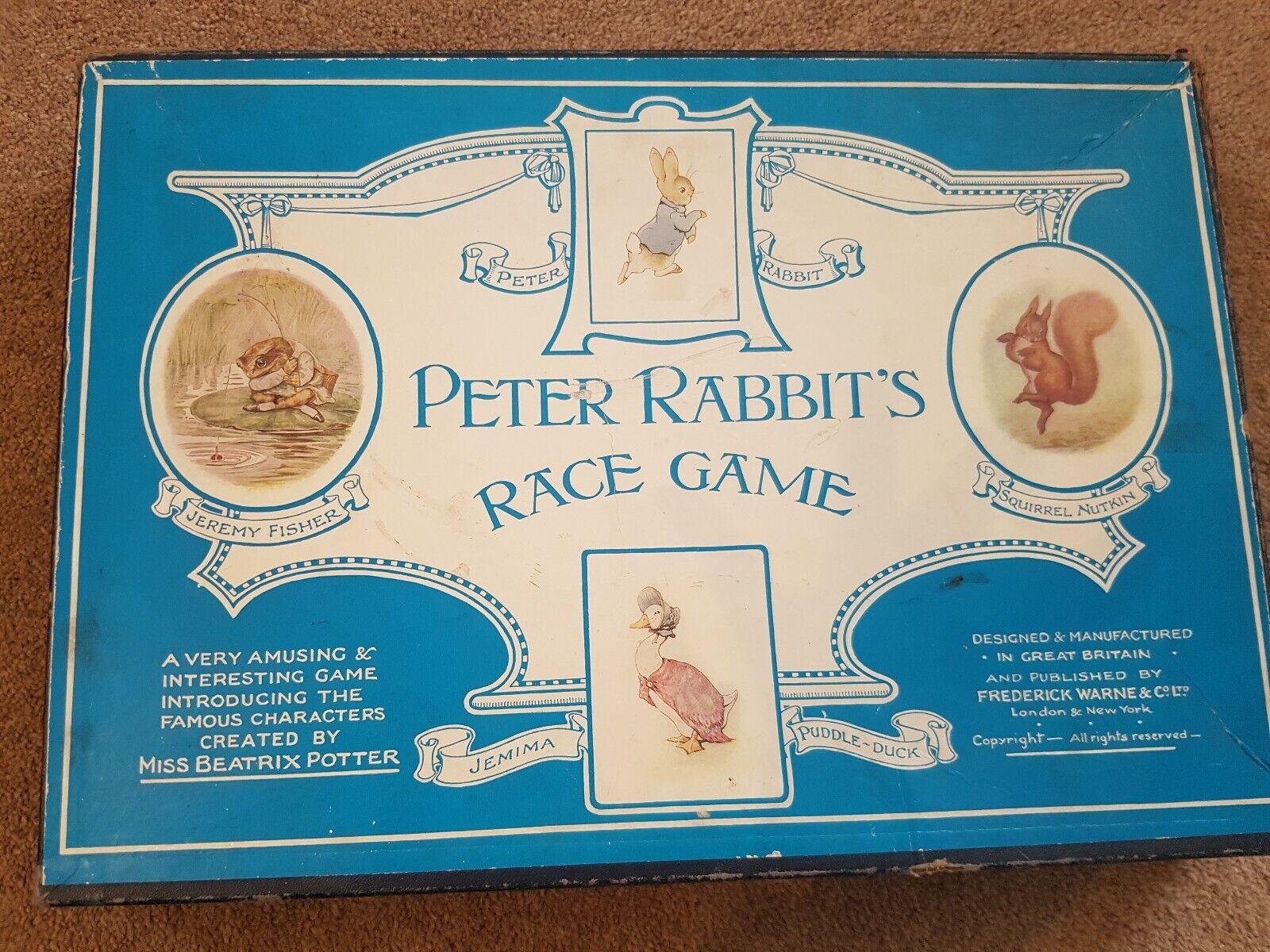 Peter Rabbit's Race Juego década de 1940