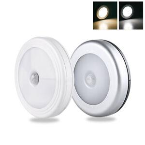 6LED-PIR-Motion-Sensor-Night-Light-Infrared-Wireless-Wall-Lamp-Battery-Powered