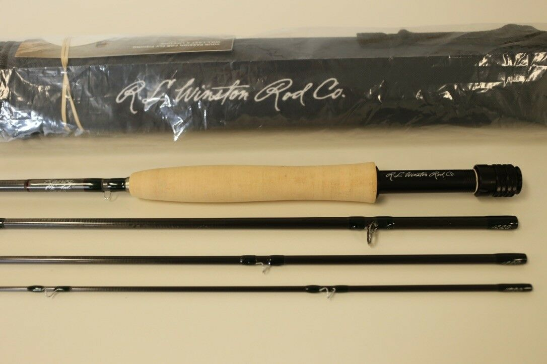 R L Winston Kairos 8' 6  4 WT Fly Rod Free  75 Line Free Fast Shipping