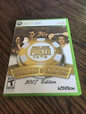 World Series Poker Xbox 360 Cib Game Works XG1