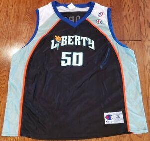 Rare-Vintage-WNBA-Champion-New-York-Liberty-Rebecca-Lobo-50-Jersey-XL-UCONN