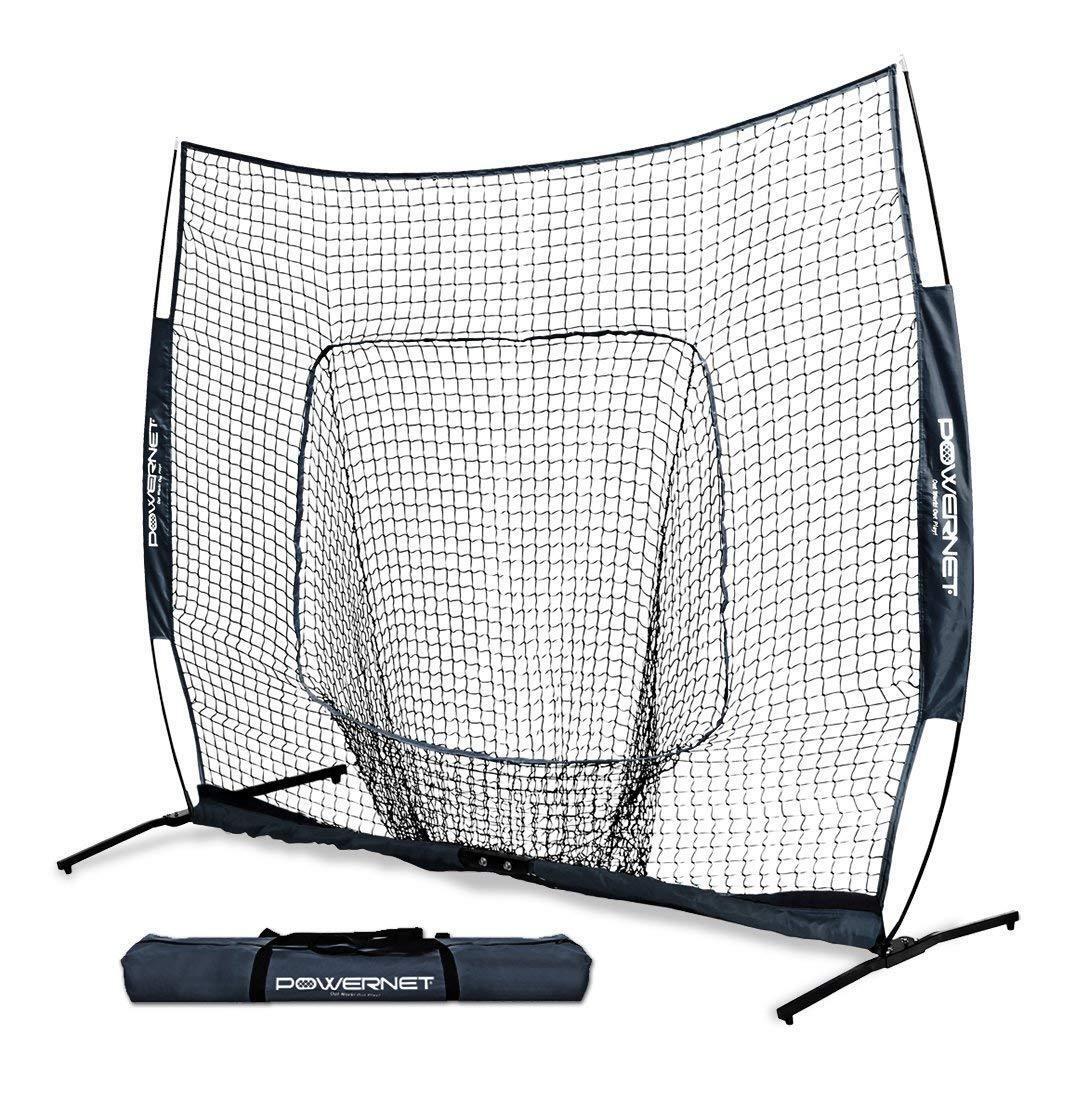 PowerNet 7X7 Baseball Softball PRO Hitting Hitting PRO Net One-Piece Frame Team Farbes 2e1ad0