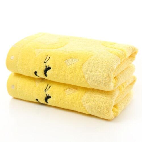 Baby Infant Newborn Cartoon Soft Cotton Bath Towel Washcloth Feeding Wipe Cloth