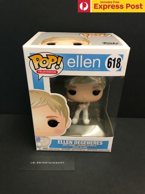 THE ELLEN SHOW ELLEN DEGENERES FUNKO POP TELEVISION VINYL FIGURE - #618 - NEW
