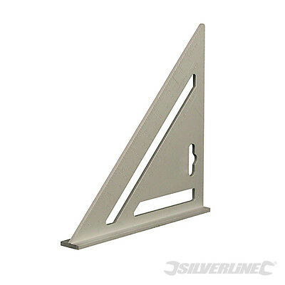 Equerre en aluminium robuste. 185 mm. Silverline 734110