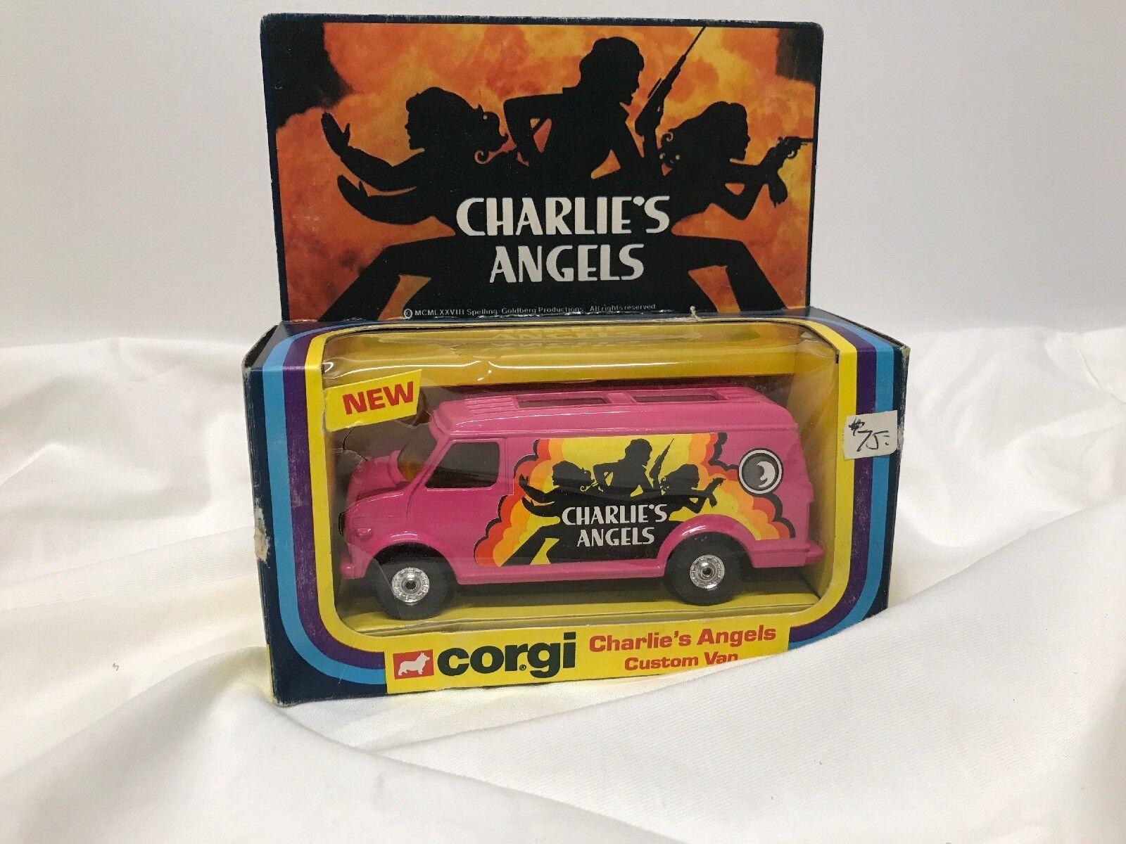 1977 Corgi De Los Ángeles de Charlie Van Personalizado (434)