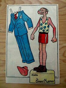 1930s-Newspaper-Toots-Casper-Comic-Section-Papa-Paper-Doll-Cutout-Jimmy-Murphy