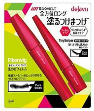 Dejavu Fiberwig Ultra Long Mascara + Tiny Sniper S MASCARA SET Black