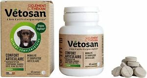 Confort Articulaire pour Chien  100% D'Origine Végétale 60 Comprimés Sécables