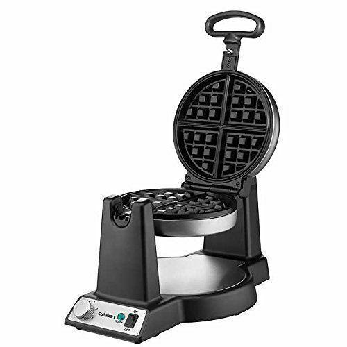 Cuisinart FWM-25P belge Flip Waffle Baker Maker acier inoxydable 1200 W Antiadhésif