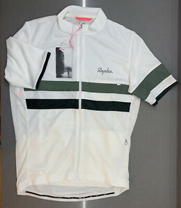 Rapha Brevet Jersey White Size Large Brand New With Tag