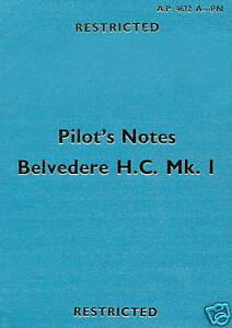 BRISTOL-WESTLAND-TYPE-192-BELVEDERE-H-C-Mk-1-P-N