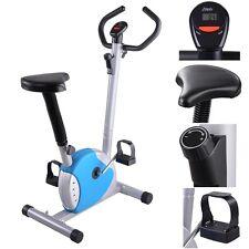 Exercise Bike Fintess Cycling Machine Cardio Aerobic Equipment Workout Gym Blue